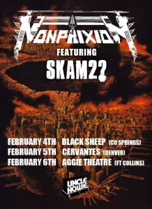 Non Phixion Colorado Tour 2016